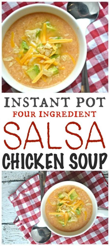 Get the recipe Salsa Chicken Soup @recipes_to_go