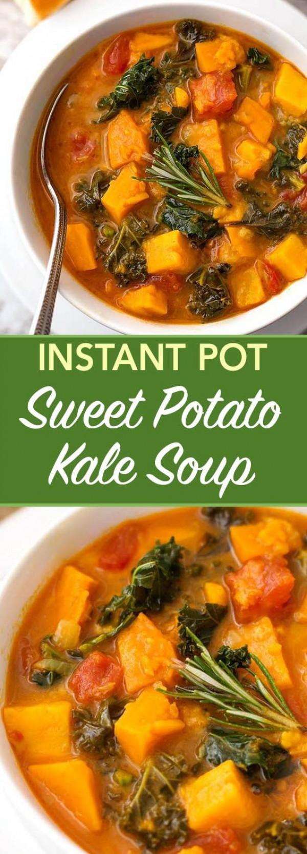 Get the recipe Sweet Potato Kale Soup @recipes_to_go