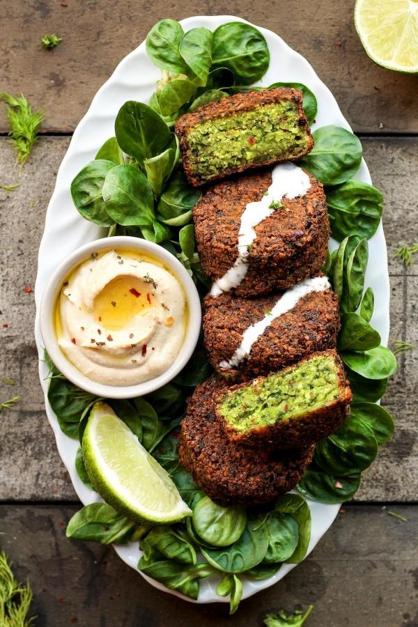 Get the recipe Magical Green Falafels @recipes_to_go