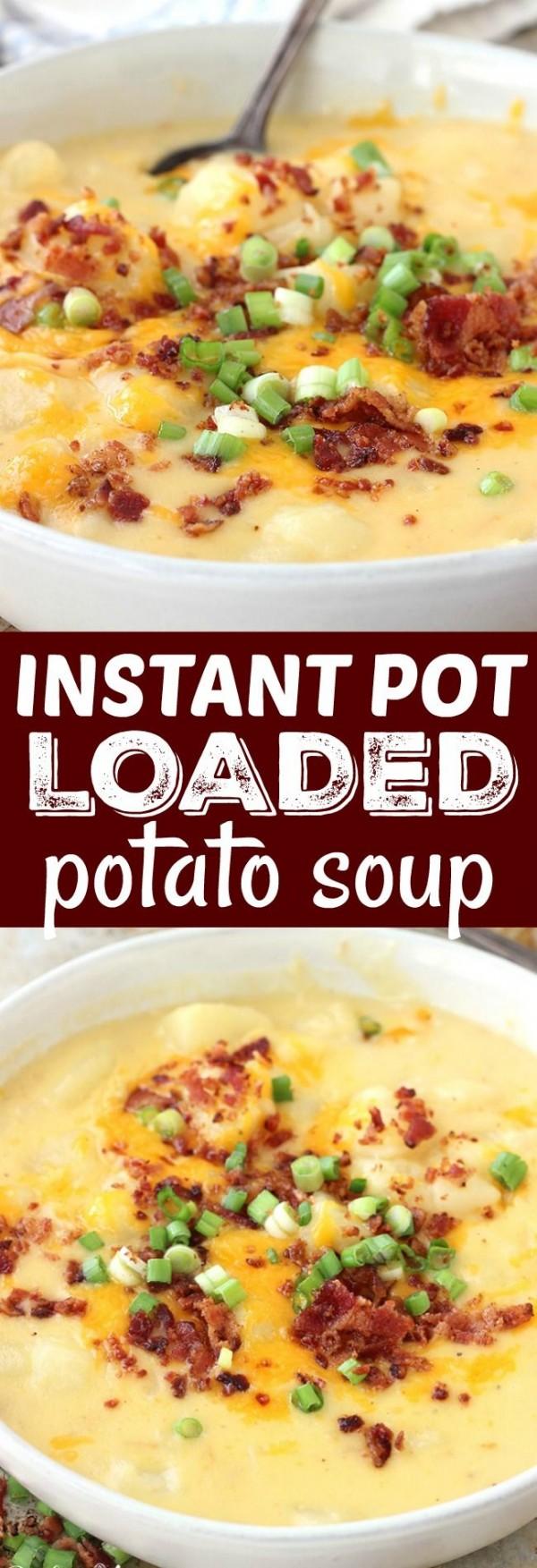 Get the recipe Loaded Potato Soup @recipes_to_go