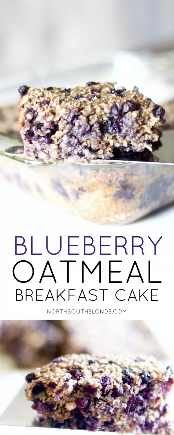 Get the recipe Blueberry Oatmeal Breakfast Cake @recipes_to_go