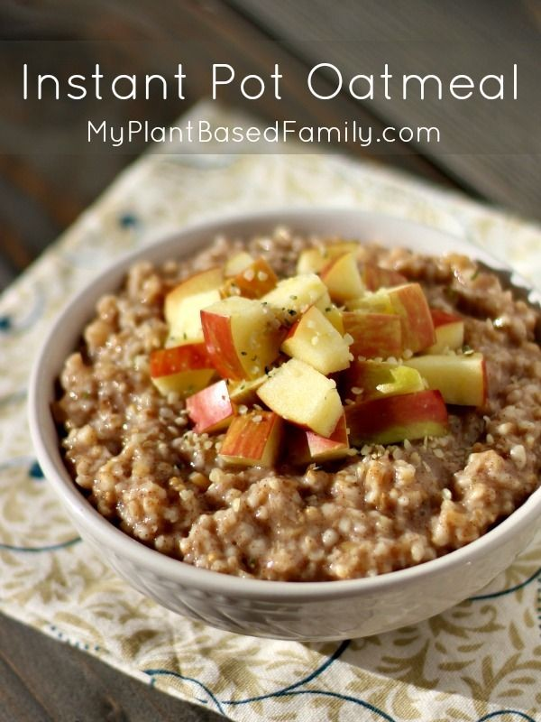 Get the recipe Instant-Pot Oatmeal @recipes_to_go