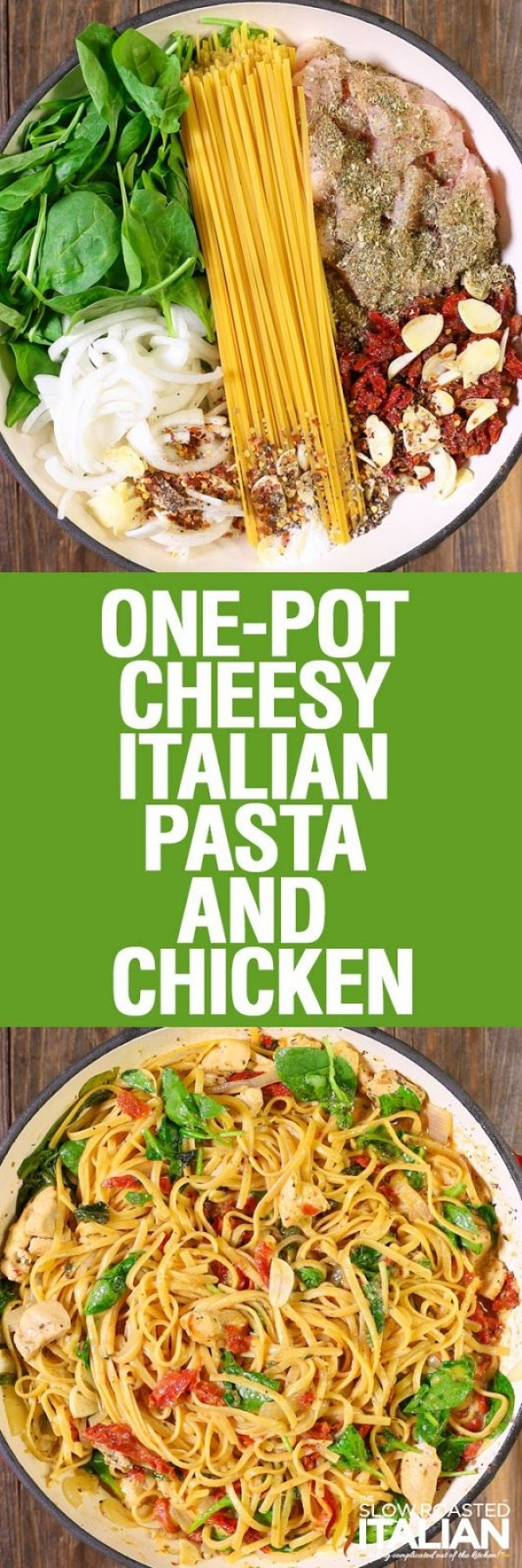 Get the recipe Cheesy Italian Pasta and Chicken @recipes_to_go