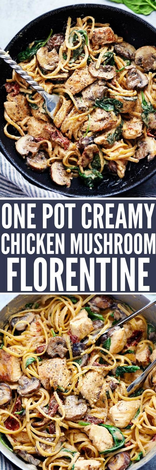 Get the recipe Creamy Chicken Mushroom Florentine @recipes_to_go