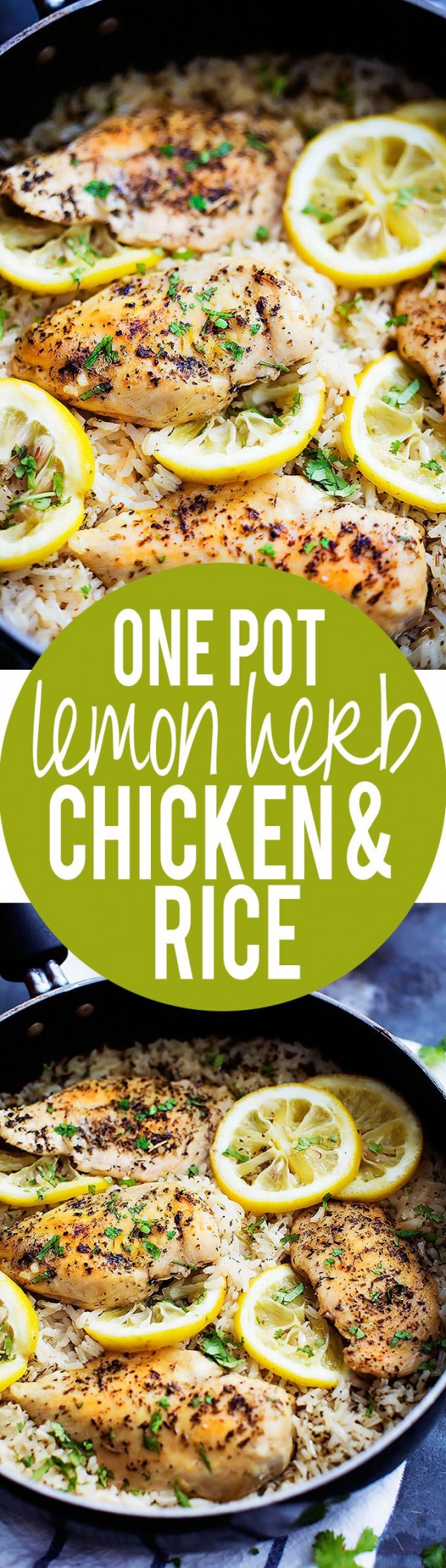 Get the recipe Lemon Herb Chicken and Rice @recipes_to_go