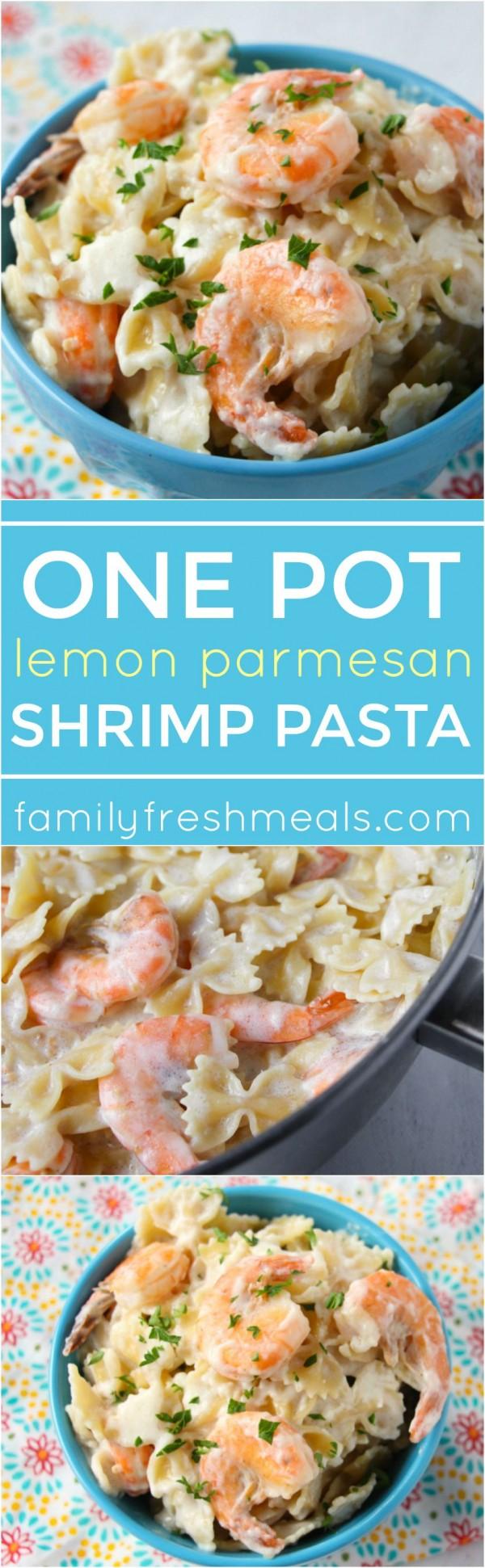 Get the recipe Lemon Parmesan Shrimp Pasta @recipes_to_go