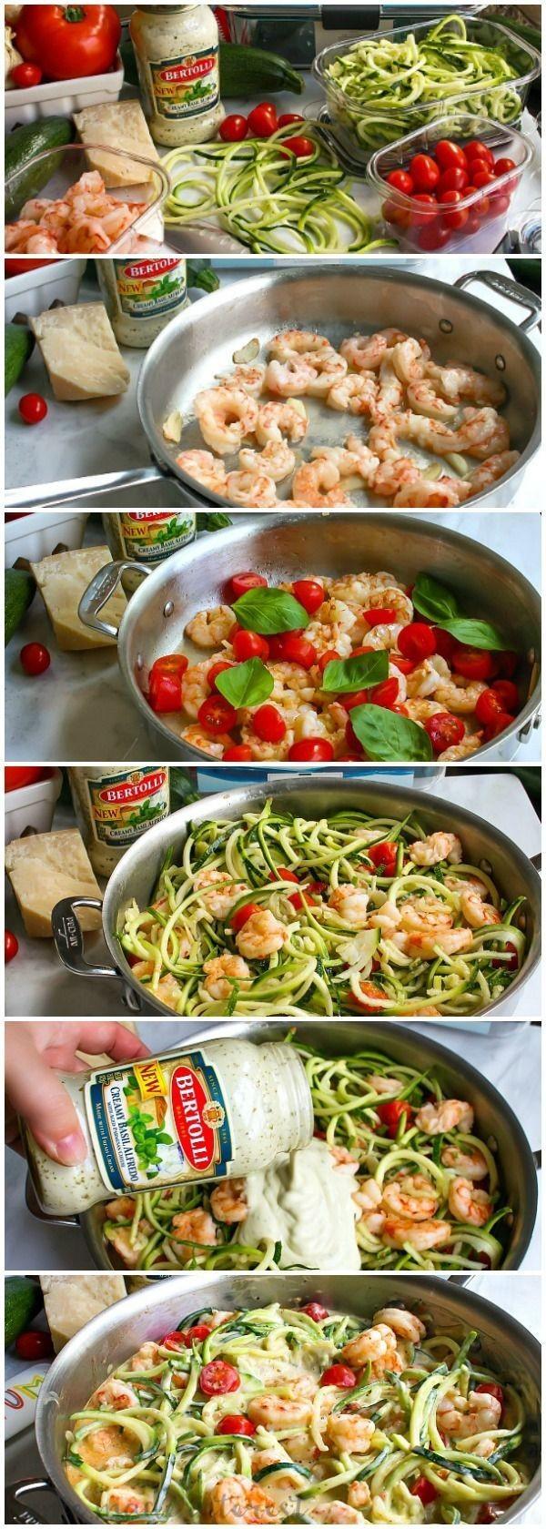 Get the recipe Low Carb Shrimp Alfredo @recipes_to_go