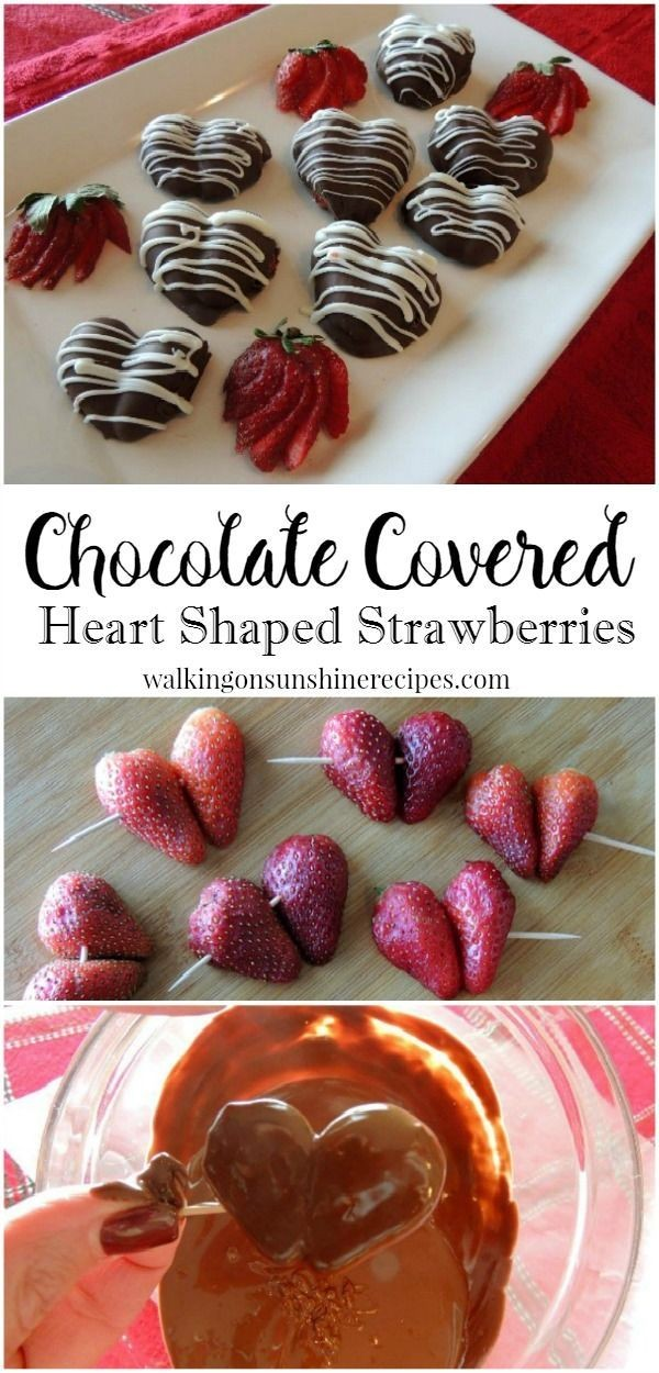 Get the recipe Chocolate Covered Heart Shaped Strawberries @recipes_to_go