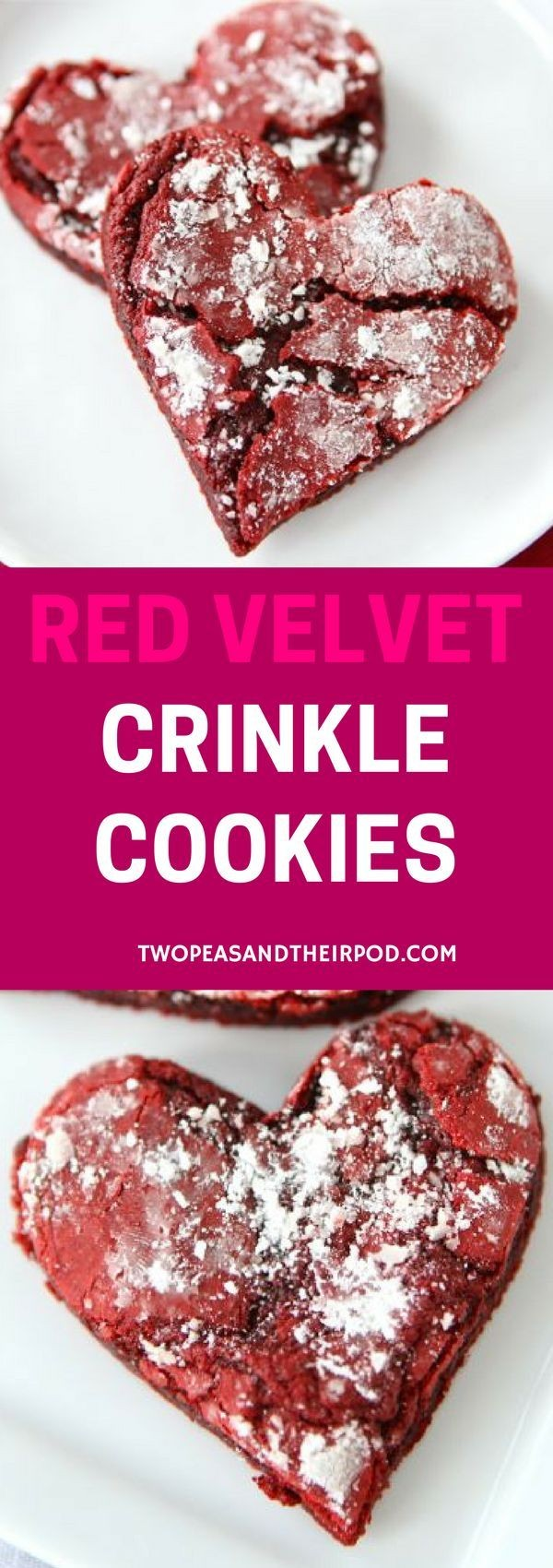 Get the recipe Red Velvet Crinkle Cookies @recipes_to_go