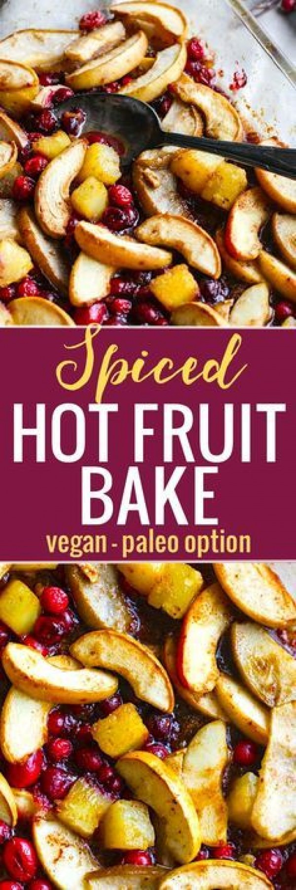 Get the recipe Spiced Hot Fruit Bake @recipes_to_go