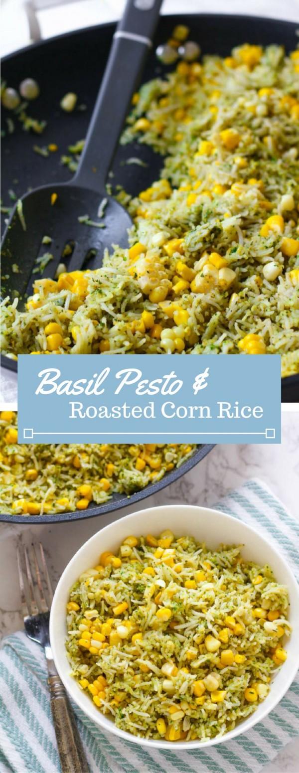 Get the recipe Basil Pesto and Roasted Corn Rice @recipes_to_go