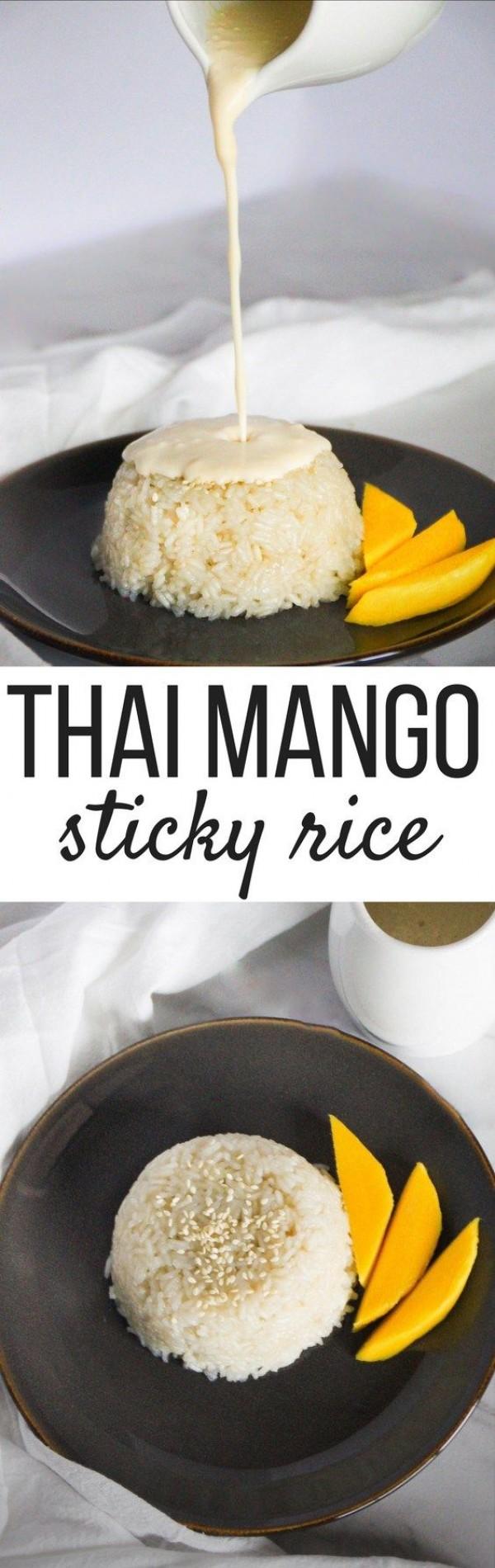 Get the recipe Thai Mango Sticky Rice @recipes_to_go