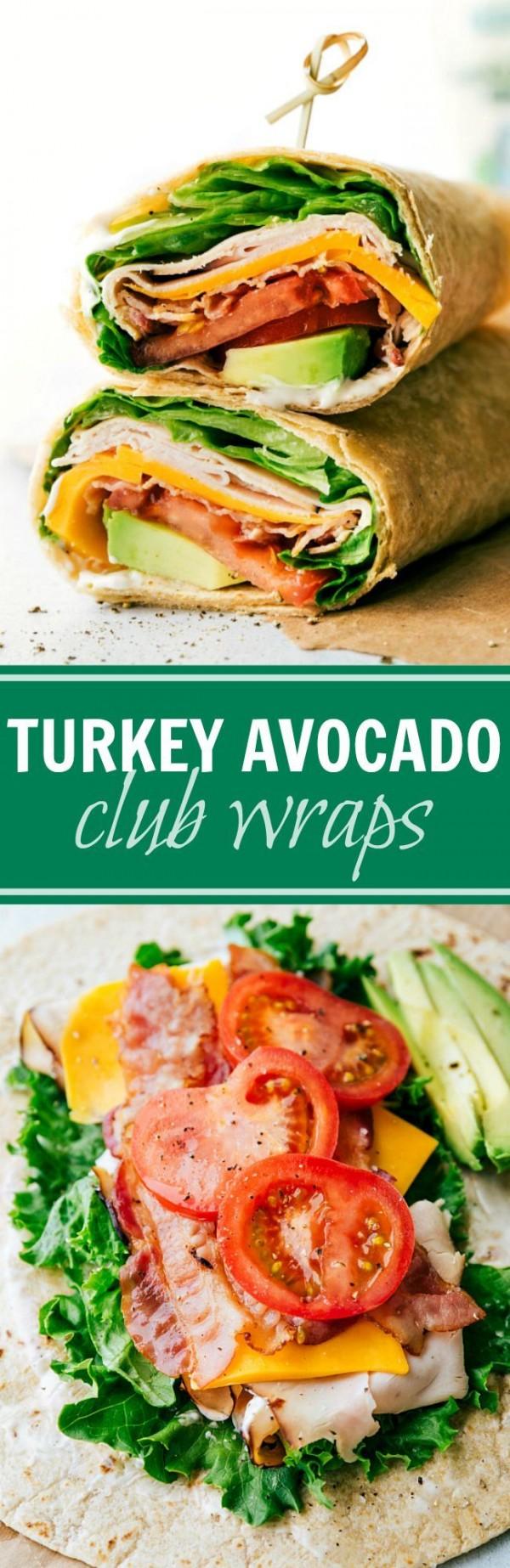 Get the recipe Turkey Avocado Club Wraps @recipes_to_go