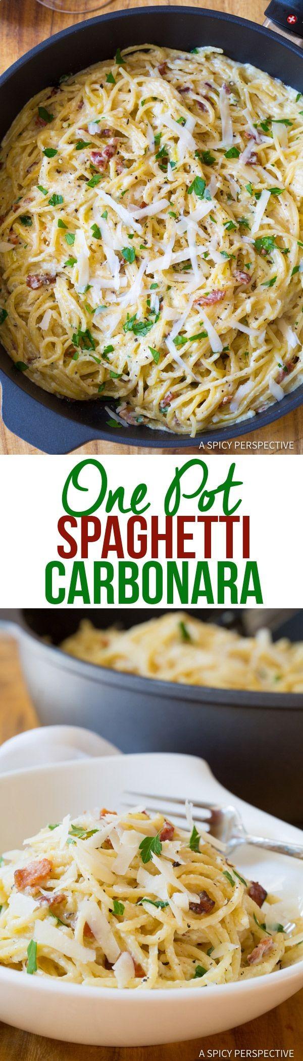 Get the recipe Spaghetti Carbonara @recipes_to_go