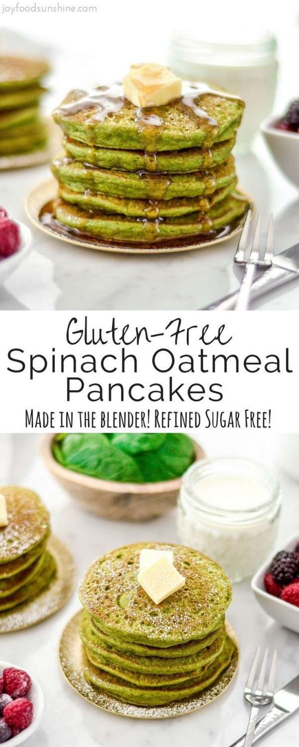Get the recipe Spinach Oatmeal Pancakes @recipes_to_go