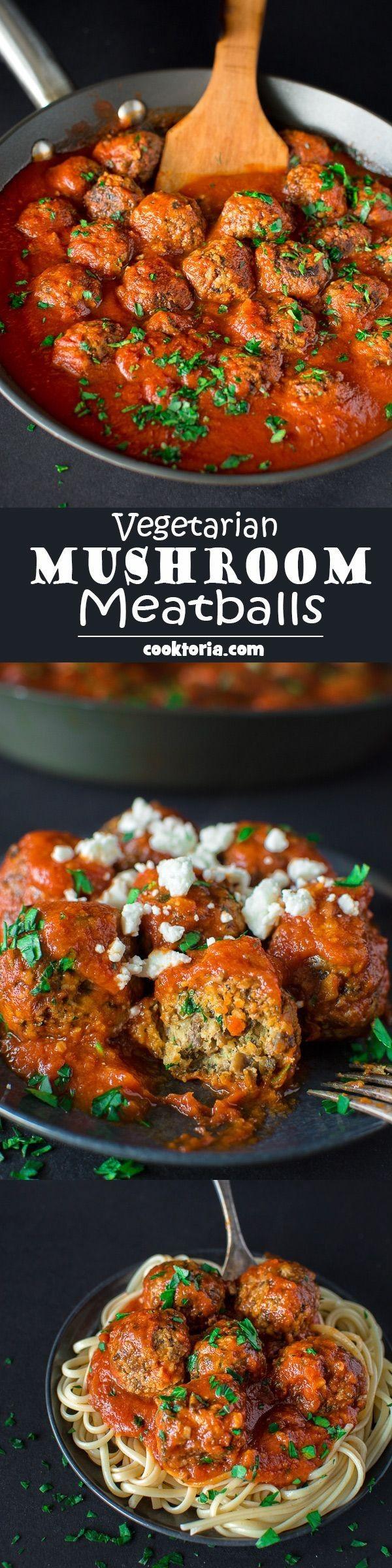 Get the recipe Vegetarian Mushrooms Meatballs @recipes_to_go