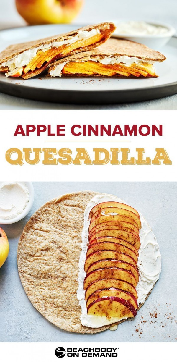 Get the recipe Apple Cinnamon Quesadilla @recipes_to_go