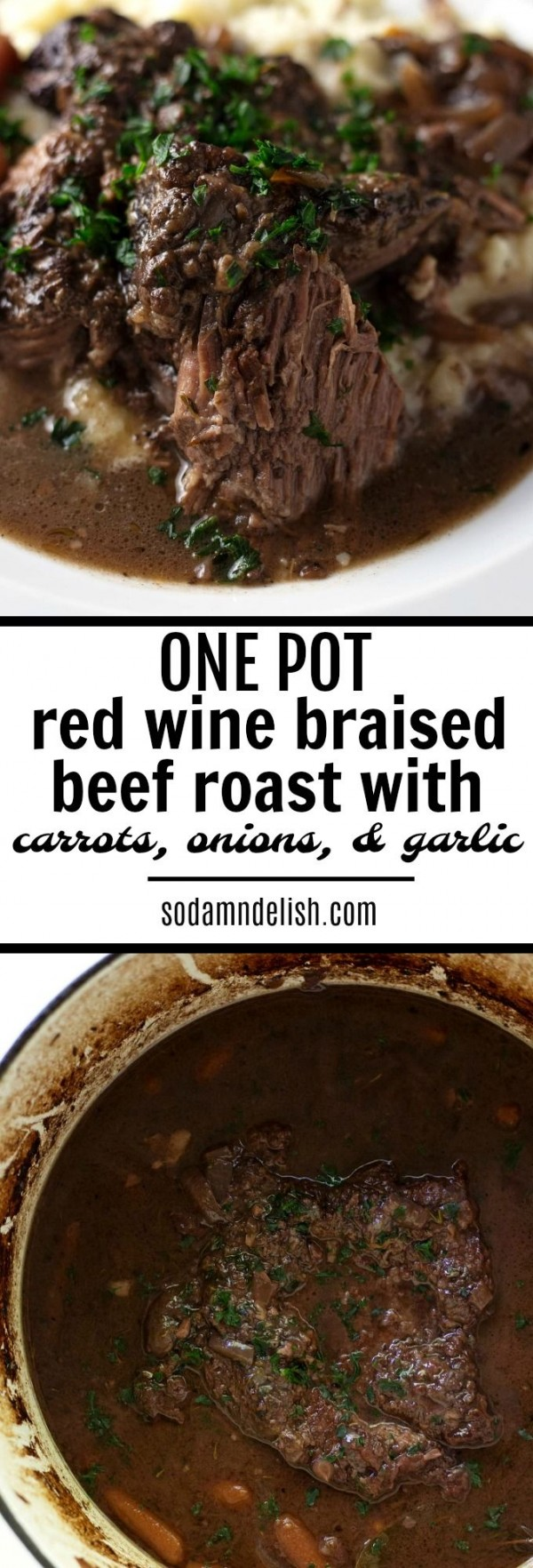 Get the recipe Red Wine Braised Beef Roasted with Vegetables @recipes_to_go