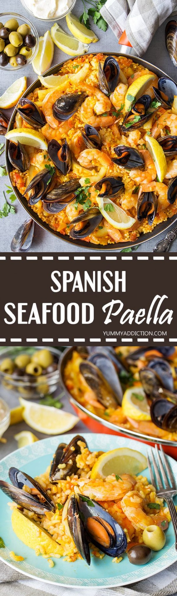 Get the recipe Spanish Seafood Paella @recipes_to_go