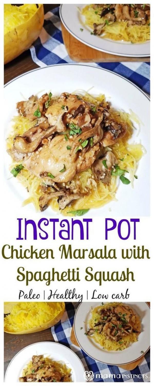 Get the recipe Chicken Marsala with Spaghetti Squash @recipes_to_go