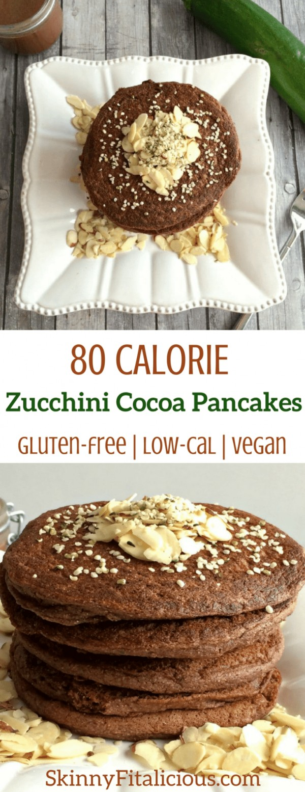 Get the recipe Zucchini Cocoa Pancakes @recipes_to_go