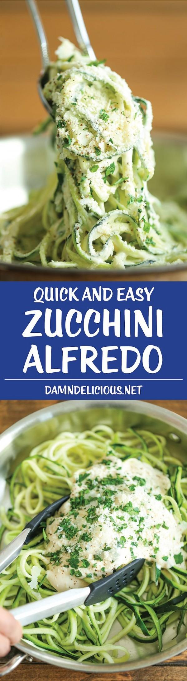 Get the recipe Zucchini Alfredo @recipes_to_go