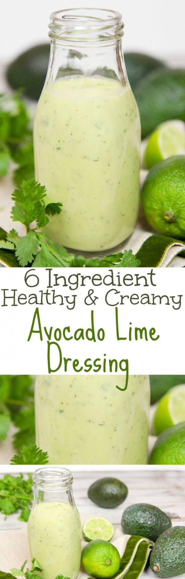 Get the recipe Avocado Lime Dressing @recipes_to_go