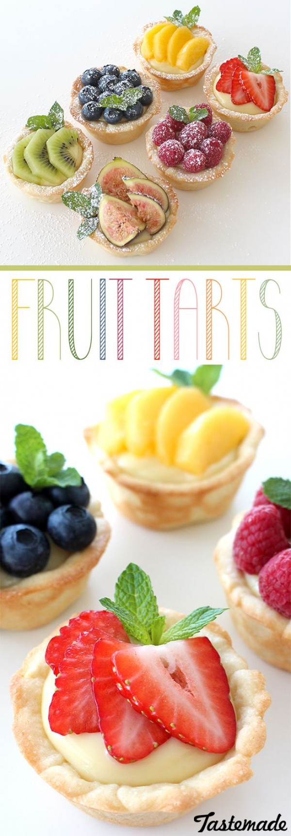 Get the recipe Mini Fruit Tarts @recipes_to_go