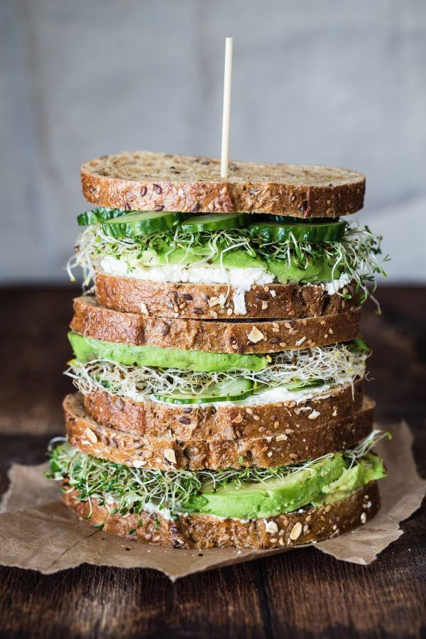 Get the recipe Avocado Cucumber Goat Cheese Sandwich @recipes_to_go