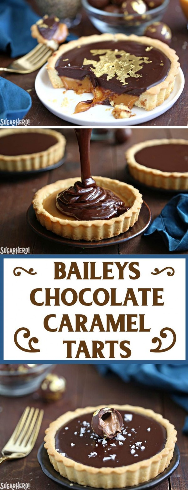 Get the recipe Baileys Chocolate Caramel Tarts @recipes_to_go