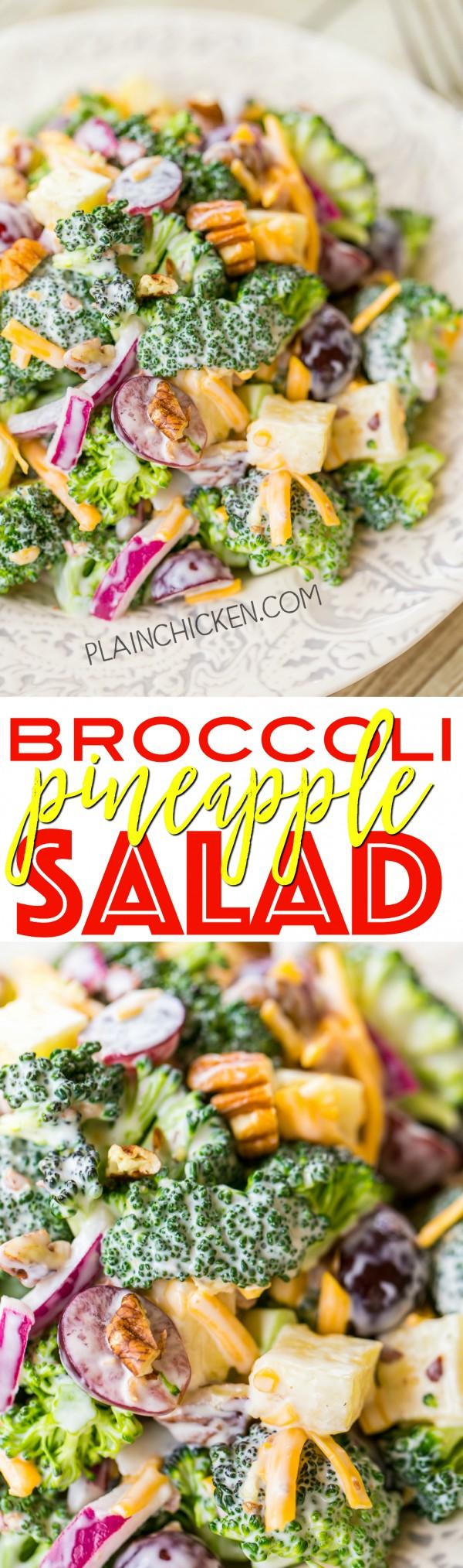 Get the recipe Broccoli Pineapple Salad @recipes_to_go