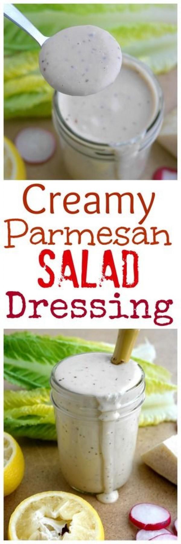 Get the recipe Creamy Parmesan Salad Dressing @recipes_to_go