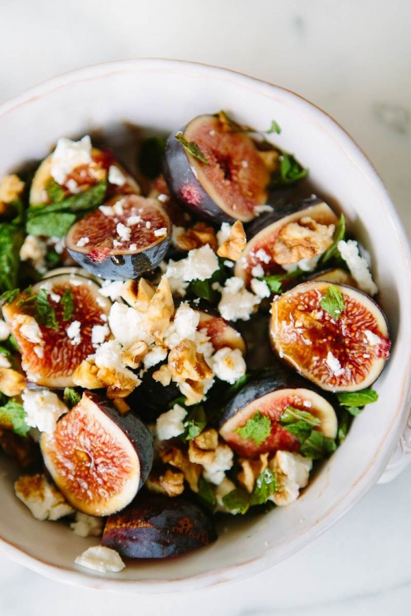 Get the recipe Fig Mint and Goat Cheese Salad @recipes_to_go
