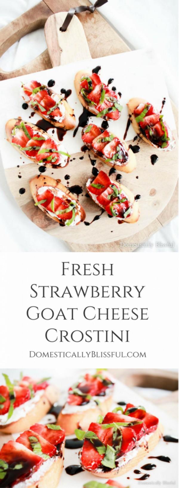 Get the recipe Fresh Strawberry Goat Cheese Crostini @recipes_to_go