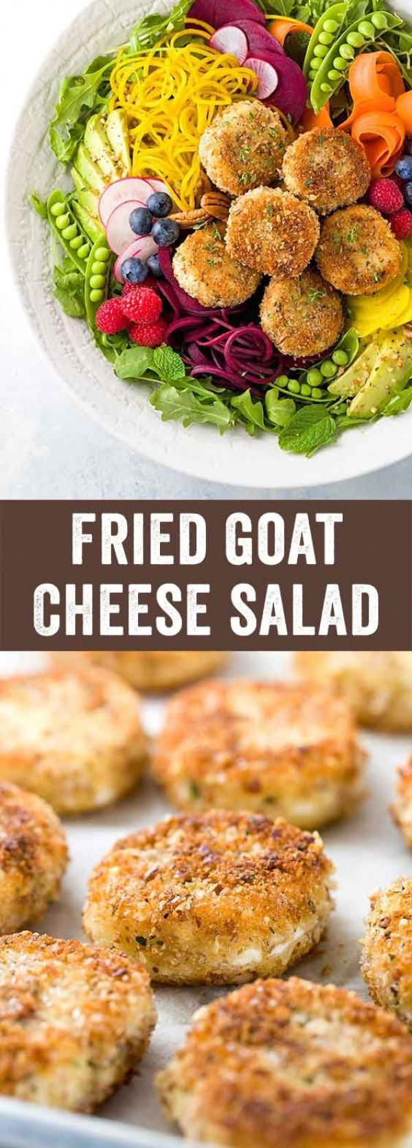 Get the recipe Fried Goat Cheese Salad @recipes_to_go