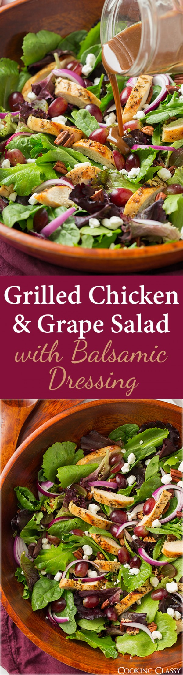 Get the recipe Grilled Chicken and Grape Salad @recipes_to_go