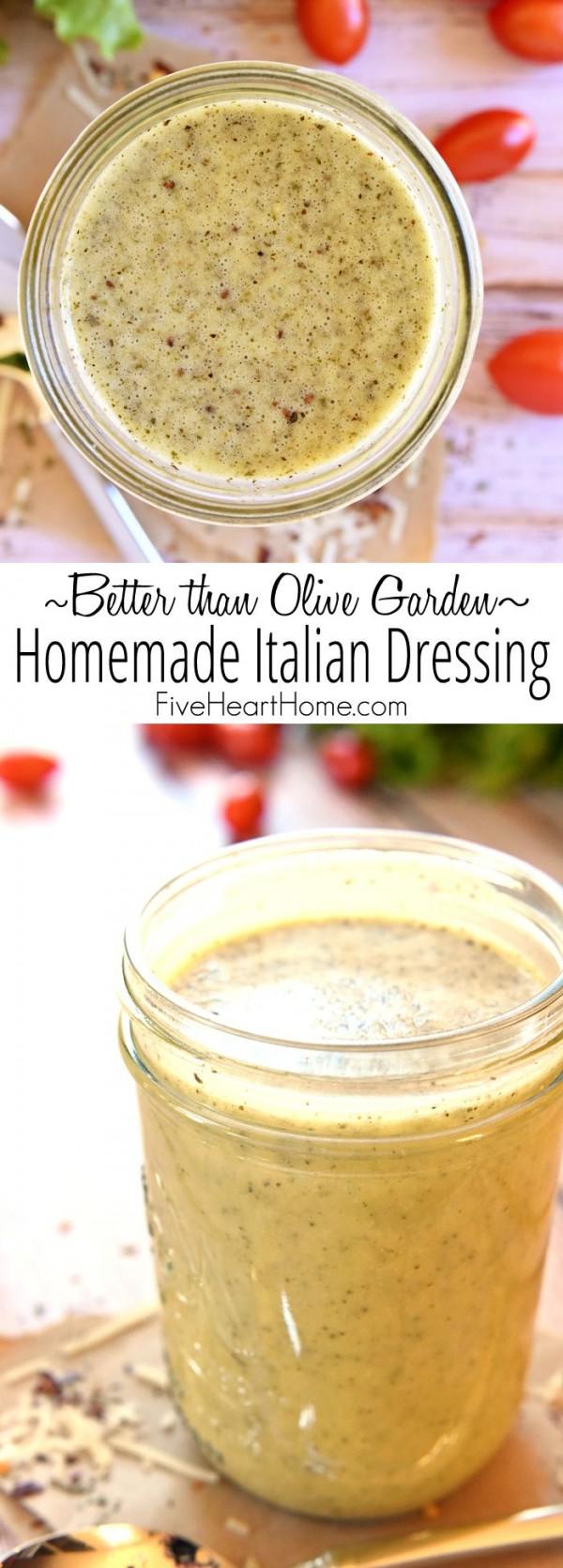 Get the recipe Homemade Italian Dressing @recipes_to_go