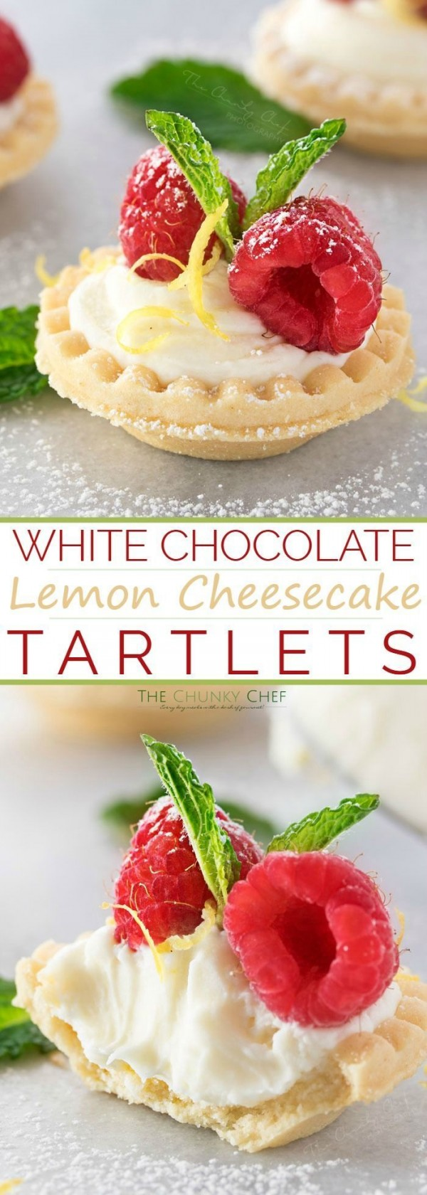 Get the recipe White Chocolate Lemon Cheesecake Tartlets @recipes_to_go