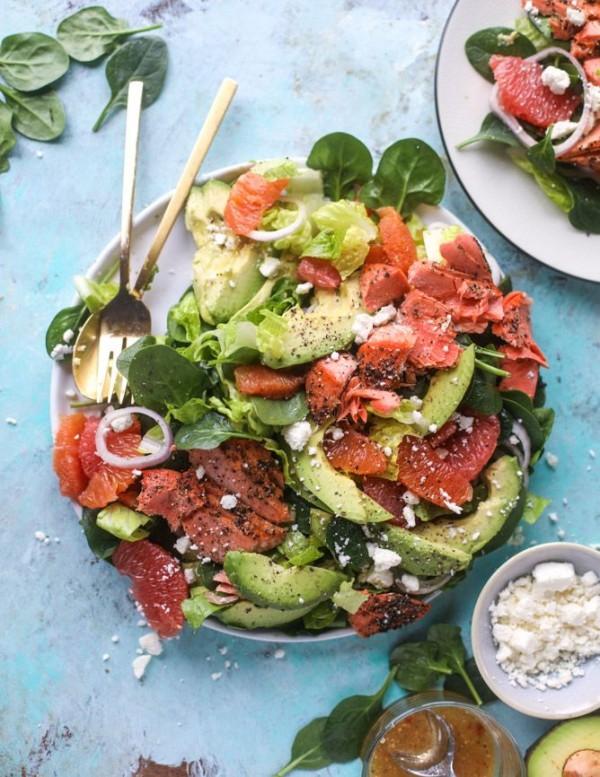 Get the recipe Salmon Avocado Citrus Salad @recipes_to_go