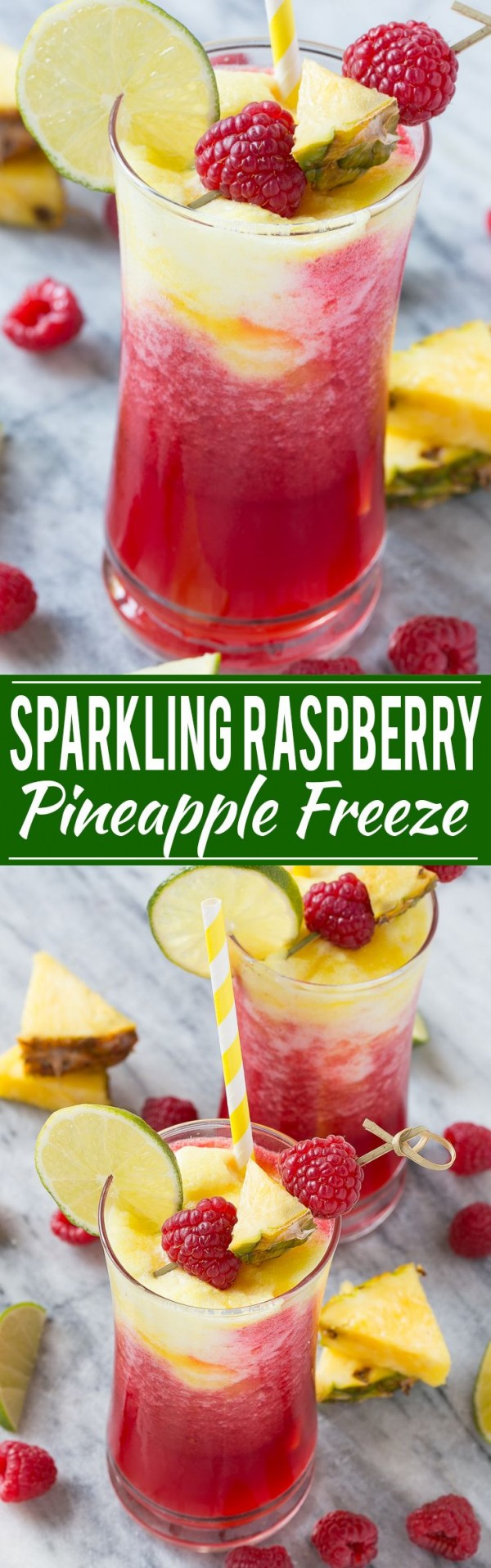 Get the recipe Sparkling Raspberry Pineapple Freeze @recipes_to_go