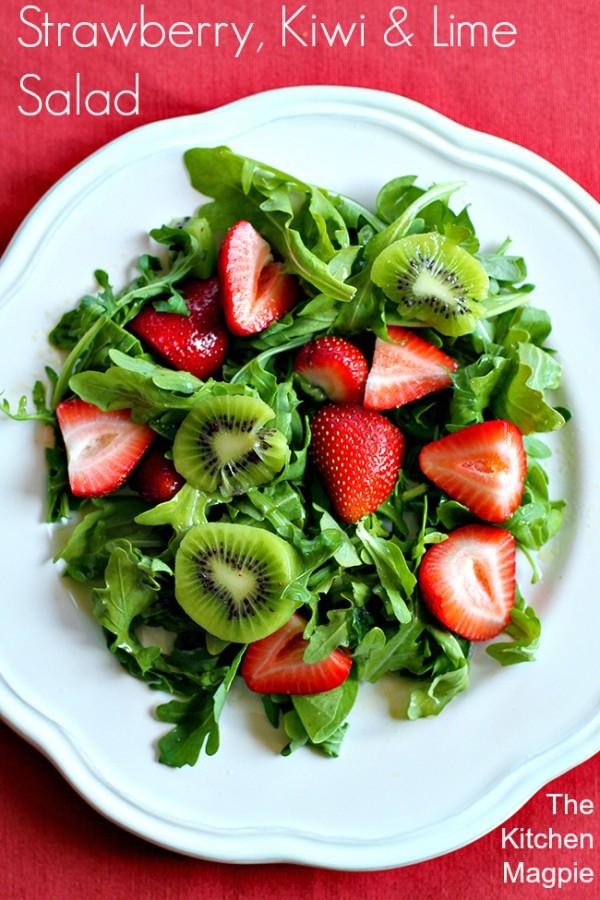 GEt the recipe Strawberry Kiwi Lime Salad @recipes_to_go