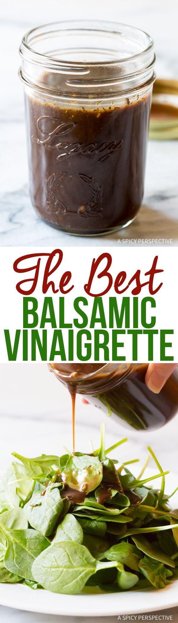 Get the recipe Balsamic Vinaigrette @recipes_to_go