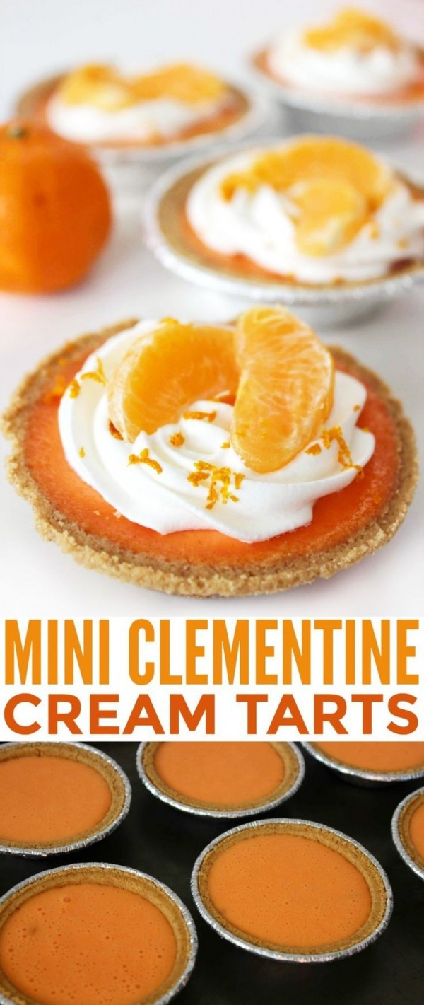 Get the recipe Mini Clementine Cream Tarts @recipes_to_go