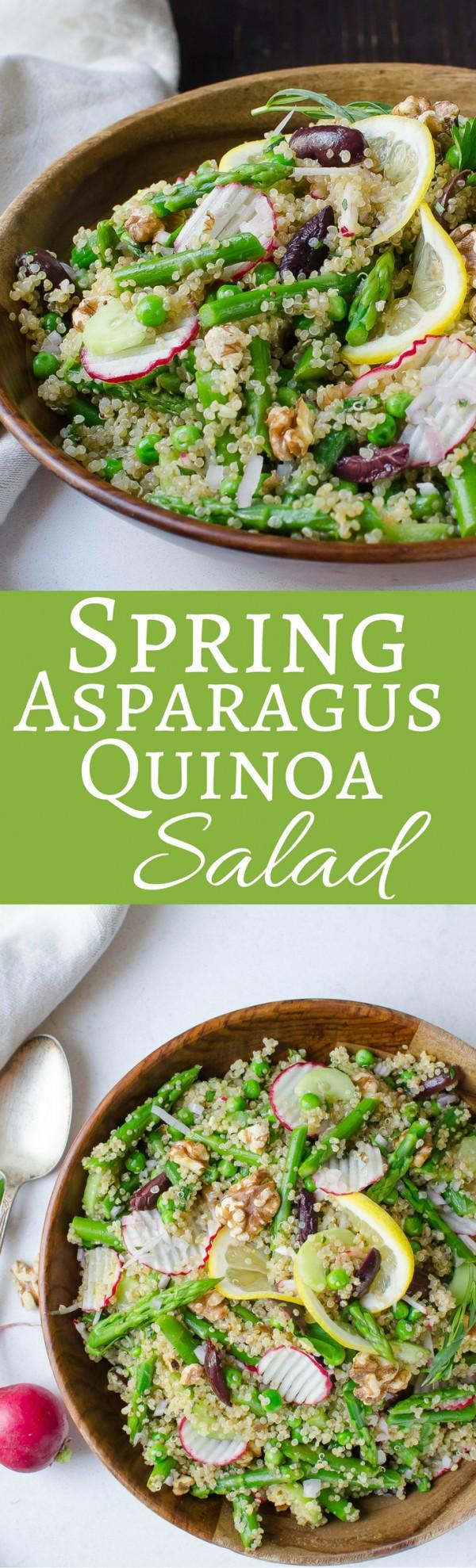 Get the recipe Spring Asparagus Quinoa Salad @recipes_to_go