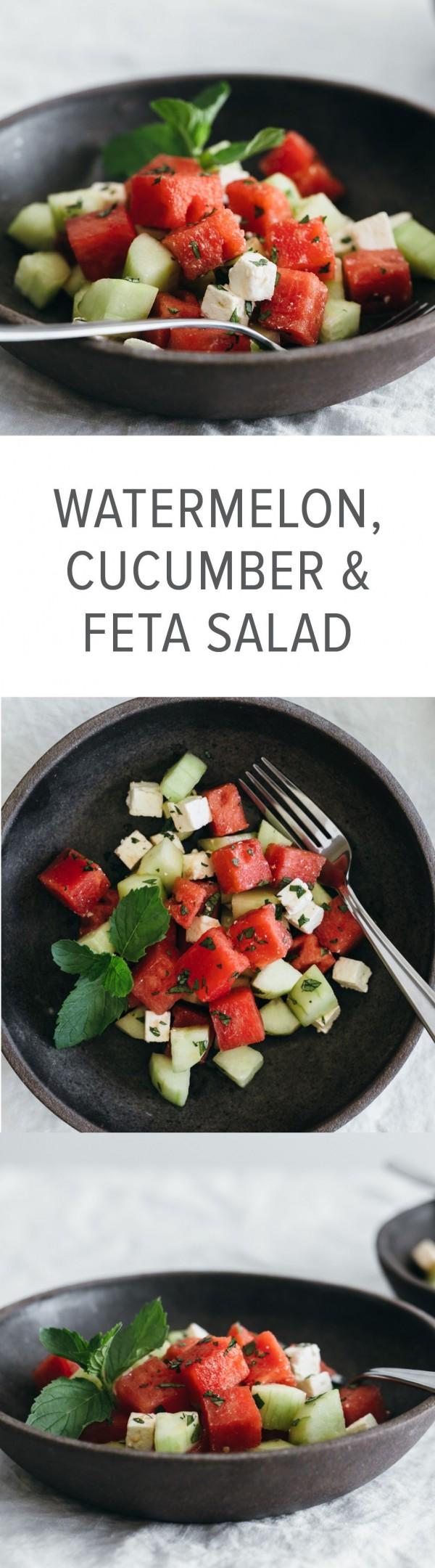 Get the recipe Watermelon Cucumber Feta Salad @recipes_to_go
