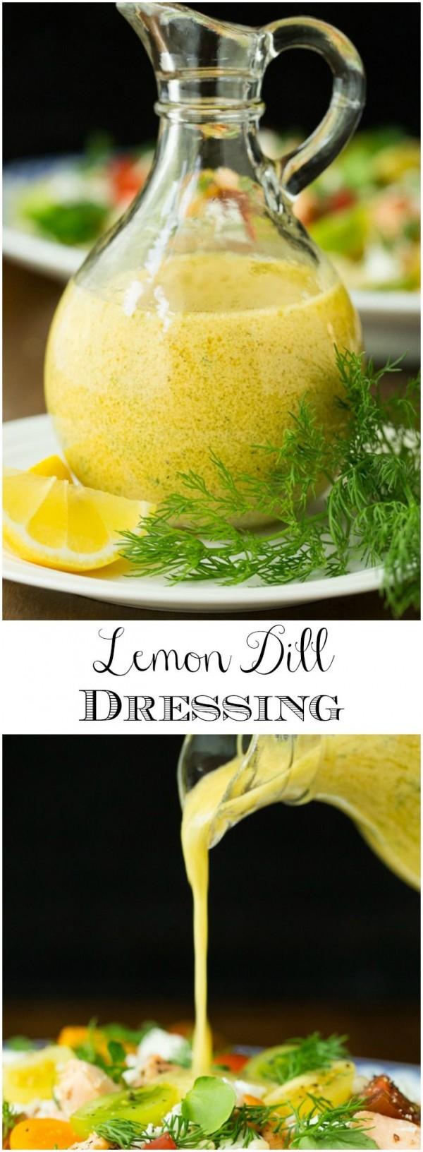 Get the recipe Lemon Dill Dressing @recipes_to_go