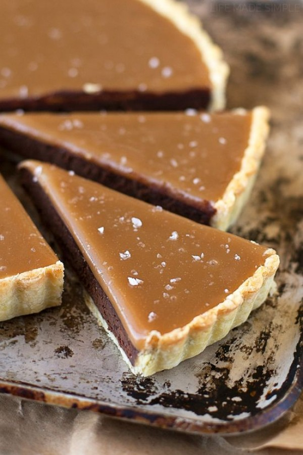 Get the recipe Salted Caramel Bittersweet Chocolate Tart @recipes_to_go