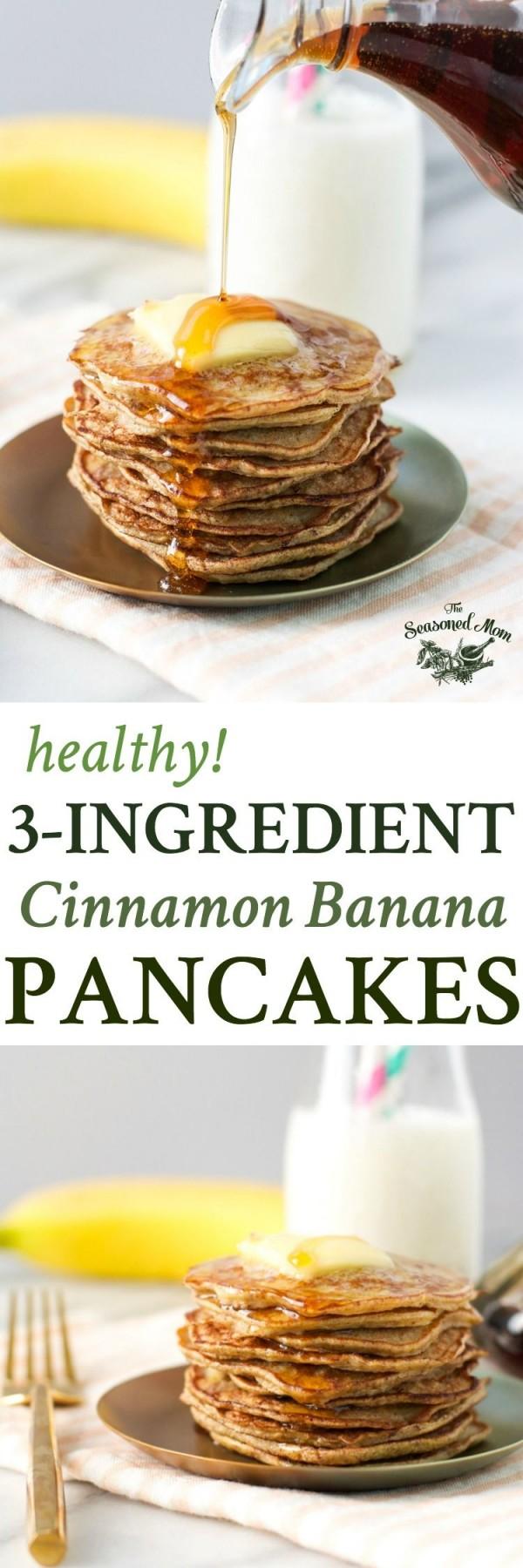 Check out this recipe for breakfast banana pancakes. Yummy! #RecipeIdeas @recipes_to_go