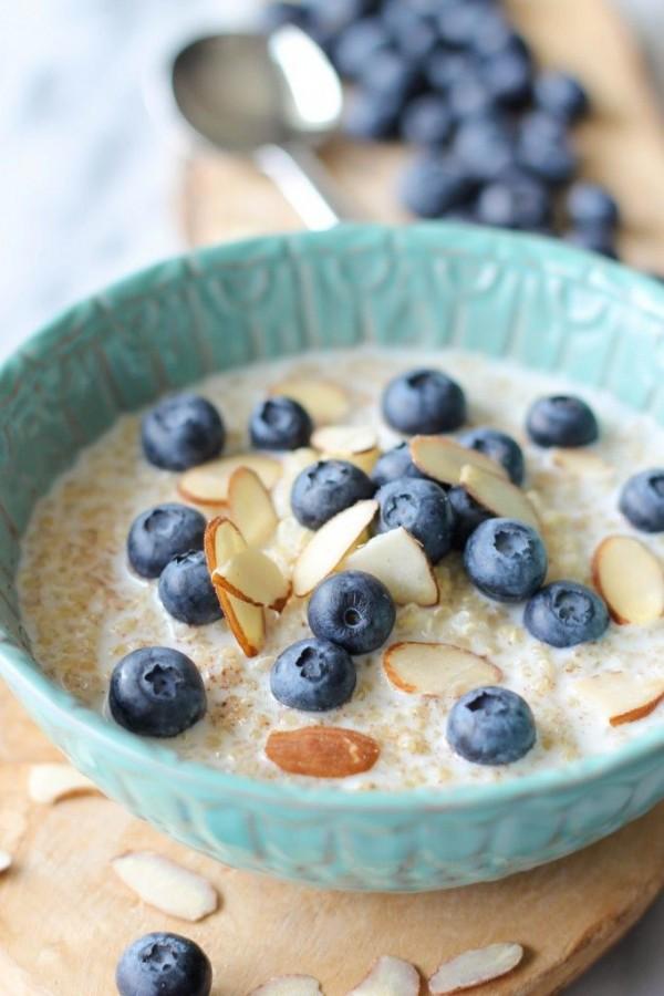 Check out this recipe for breakfast blueberry quinoa. Yummy! #RecipeIdeas @recipes_to_go