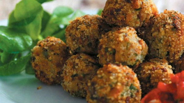 50 Most Delicious and Healthy Vegetarian Recipes - Check out this recipe for eggplant meatballs. Yummy! #RecipeIdeas @recipes_to_go